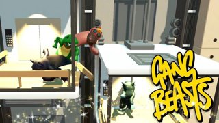 ELEVATOR FUN TIMES | Gang Beasts Online Funny Moments Part 33
