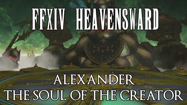 Ffxiv soul of the creator