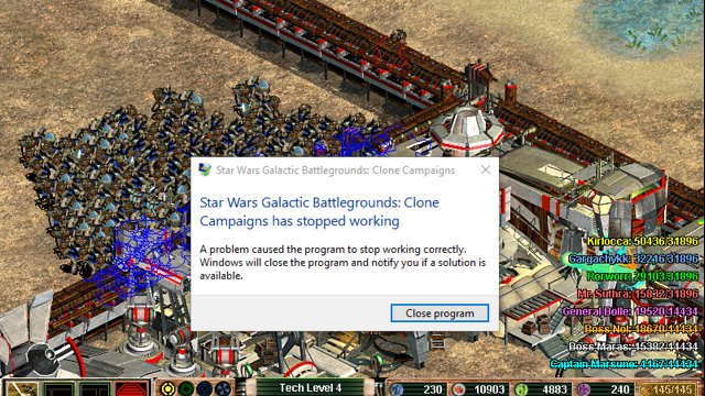 star wars galactic battlegrounds clone campaigns