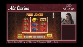 Mega Big Win on Fire Joker 😱 Playing on Genesis Casino!