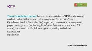 TFS (Team Foundation Server) introduction