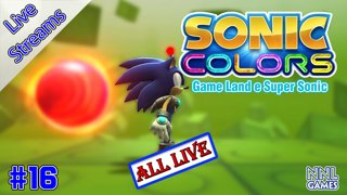 Completando Sonic Colo(u)rs (Game Land e Super Sonic)   Live Streams #16