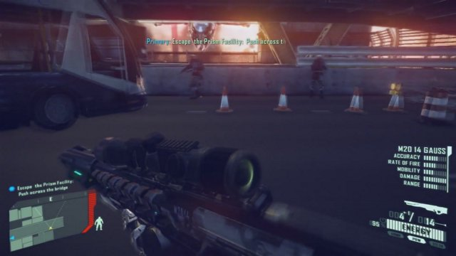 Crysis 2 gameplay video with the best weapon M2014 Gauss X-43 Mike
