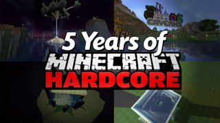 My 5 Years of Minecraft Hardcore (Montage)