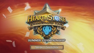 Amyks vs JasonZhou - Group B - Match 1 - 2017 HCT Summer Championship