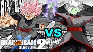 Super Saiyan Rosé Goku Black Vs Merged Zamasu | Bandai Livestream 1v1 Battle DragonBall Xenoverse 2 & PrimalWolfx - How To Get Super Saiyan 4 Goku Costume and Divinity ...