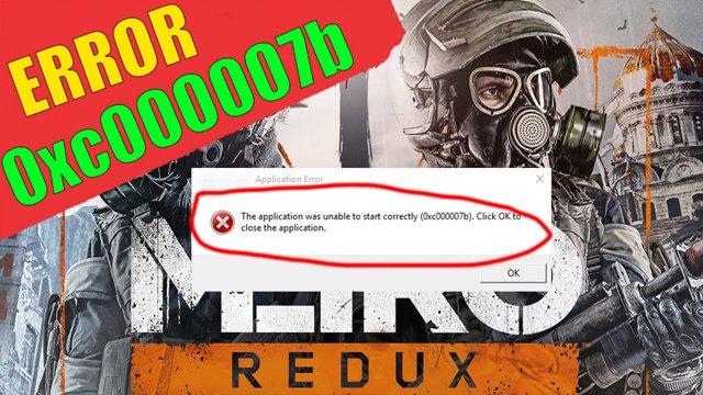 ✅ Metro Redux error 0xc000007b (How to Fix)