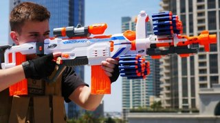 3 Outrageous Moments From This Nerf War Battle. Nerf GunViral VideosDonald  ...