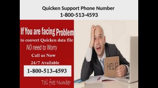 Quicken Support Phone Number 1-800-513-4593, Helpline