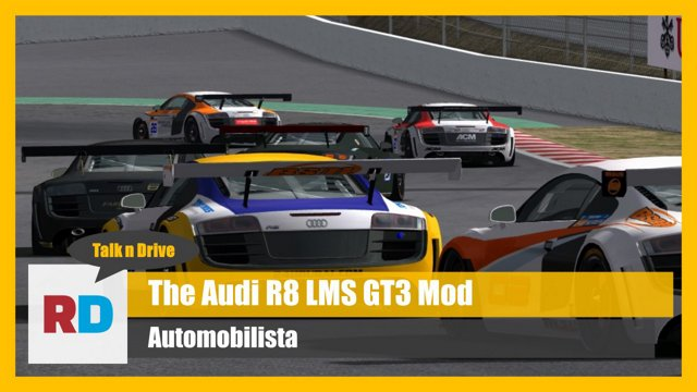 Awesome AMS Mod - The Audi R8 LMS GT3