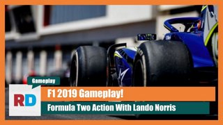 F1 2019 Gameplay - F2 at Bahrain - Lando Norris FTW!