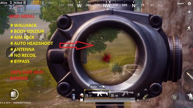 HACK PUBG December 2018 PLAYSTORE | SKIN HACK | WALLHACK | NO RECOIL 100% |  AIMBOT for Android & IOS