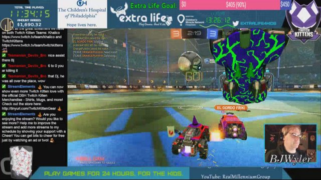 RealMillenniumGroup - Extra Life Marathon 2017