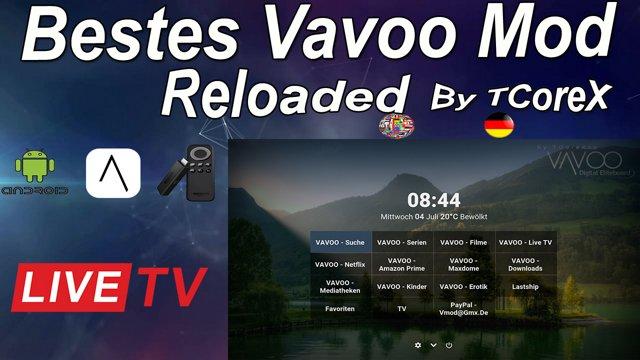 Vavoo Mod Slim Bundle Von TCoreX Auf Fire TV Stick Installieren HD