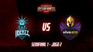 Circuito Desafiante 2019: 2ª Etapa - Semifinal 1 | Havan Liberty x Vivo Keyd (Jogo 2)