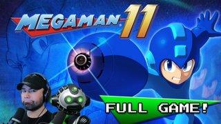 Mega Man 11 | Robot Co-Op [Full Stream & Full Game]
