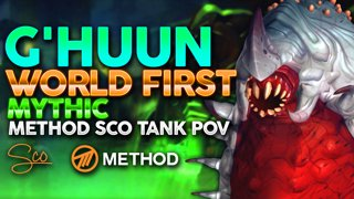 Mythic G'huun WORLD FIRST - Uldir - Method Sco Brewmaster Monk Tank POV