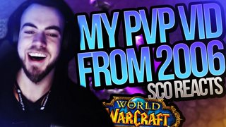 REACTING TO MY 2006 VANILLA PVP VIDEO!