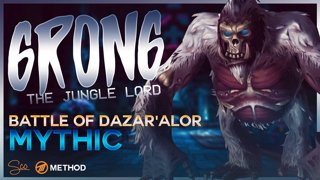 Mythic Grong, the Jungle Lord - Battle of Dazar'alor - Method Sco Brewmaster Monk Tank POV