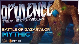 Mythic Opulence Treasure Guardian - Battle of Dazar'alor - Method Sco Brewmaster Monk Tank POV