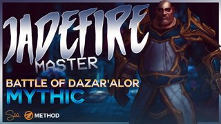 Mythic Jadefire Masters - Battle of Dazar'alor - Method Sco Brewmaster Monk Tank POV