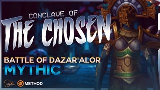 Mythic Conclave of the Chosen - Battle of Dazar'alor - Method Sco Brewmaster Monk Tank POV