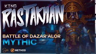 Mythic King Rastakhan - Battle of Dazar'alor - Method Sco Brewmaster Monk Tank POV