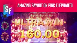 Amazing Payout On Pink Elephants (SlotsFighter)
