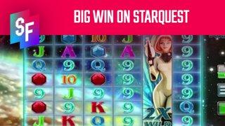 Quick Big Win On Starquest (SlotsFighter)
