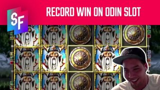 Big Win Record Topped On Odin (SlotsFighter)