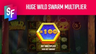 Huge Wild Swarm Multiplier Win (SlotsFighter)