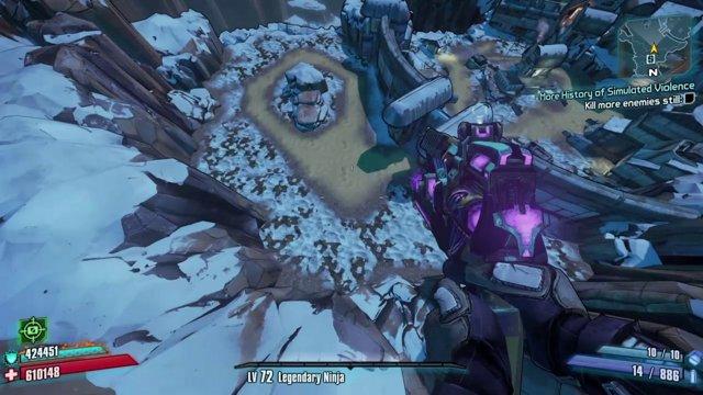 Borderlands 2: Melee Zer0's Journey To OP8 Digistruct Peak w/Level 72 Gear  Pt 3