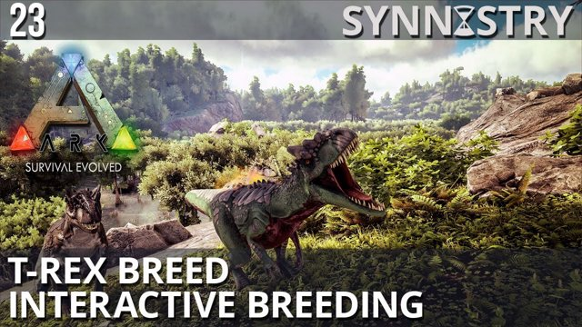 synnistry t rex breed interactive breeding 100 imprint ark