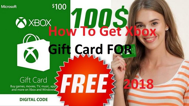 how to get free Xbox Gift Cards | live Gift card Code May 2018