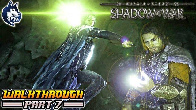 Middle-earth: Shadow of War - Walkthrough 7 - RESCUE CASTAMIR & DEFEAT  NAZGUL