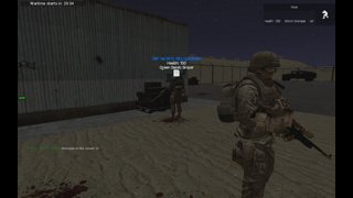 GMod Military RP Messing Around (30+kill war)