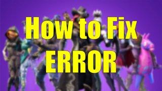 vastiks - Fortnite Error esp-010 (How to Fix) - Twitch