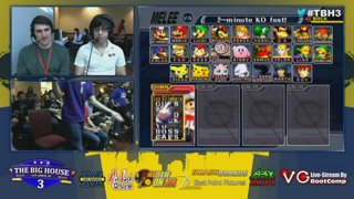 The Big House 3 - #TBH3 SSBM Top 8 Singles