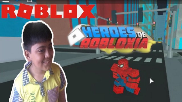 Roblox Heroes of Robloxia | Spiderman Homecoming Event