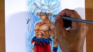 Williamsarts Como Dibujar A Goku Ultra Instinto White Migatte No