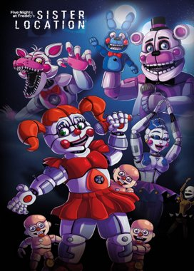 Five Nights at Freddy's: Sister Location Game Cover