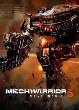 Box art hry MechWarrior 5: Mercenaries
