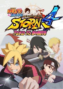 Naruto Shippuden: Ultimate Ninja Storm 4 Game Cover