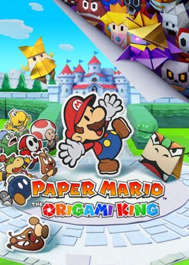 Paper Mario: The Origami King Game Cover