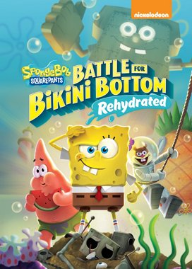 SpongeBob SquarePants: Battle for Bikini Bottom – Rehydrated Game Cover