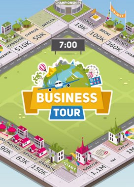 Business Tour Game Cover