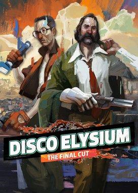 Disco Elysium box art