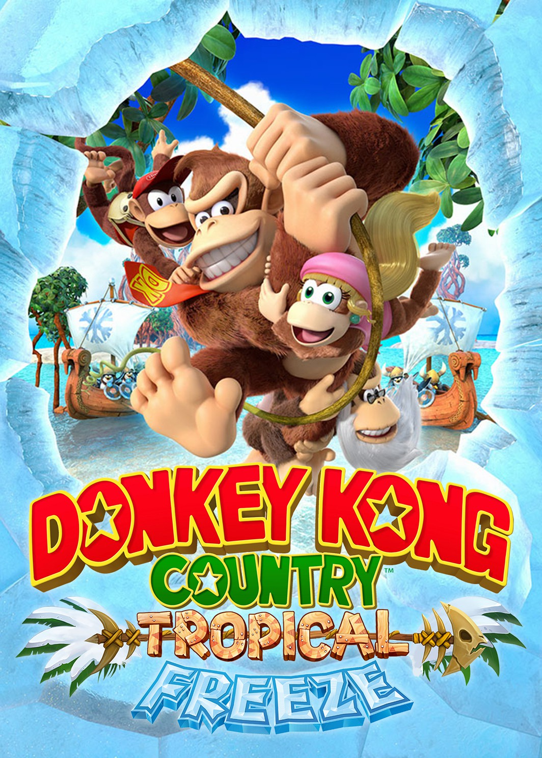 Image result for donkey kong tropical freeze