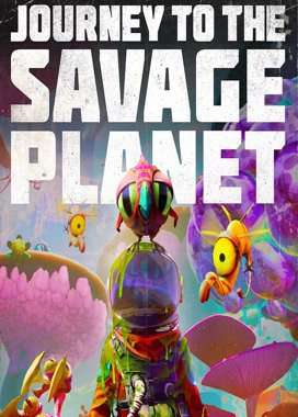 Box art hry Journey to the Savage Planet