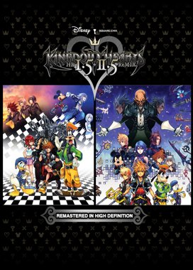 Kingdom Hearts HD I.5 + II.5 Remix logo